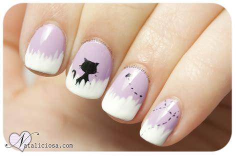 imagenes de uñas pintadas con esmalte manicura de gatito con mosca reto abc 187 nataliciosa com