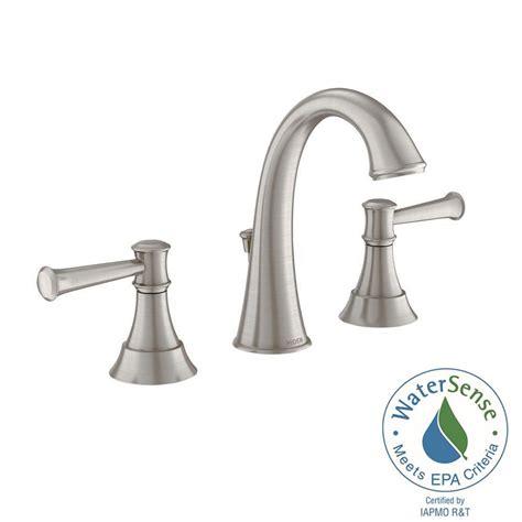 moen high arc bathroom faucet moen ashville 8 in widespread 2 handle high arc bathroom