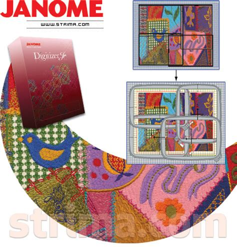 janome pattern download design embroidery machine patchwork 171 embroidery origami