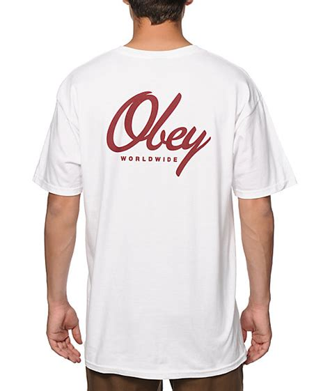 Kaos T Shirt Obey Exclusive obey get me like t shirt at zumiez pdp