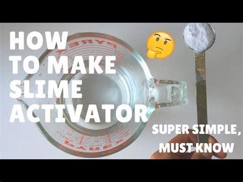 tutorial slime activator borax activator buzzpls com