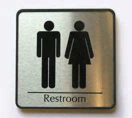 mens restroom sign womens restroom signs family