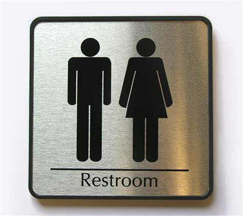 bathroom signages mens restroom sign womens restroom signs family