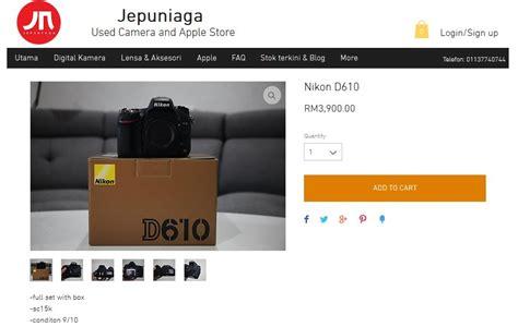 Kamera Nikon Yang Baru kedai kamera menjual kamera terpakai dari pelbagai jenama terkenal sabree hussin