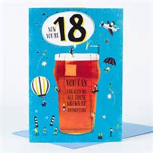 boxed 18th birthday card on your 18th only 163 1 99