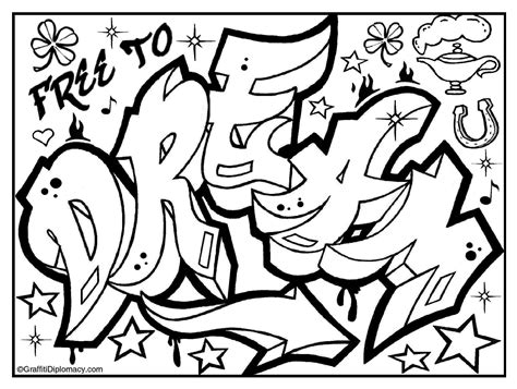 graffiti coloring book quot because y s a crooked letter quot by