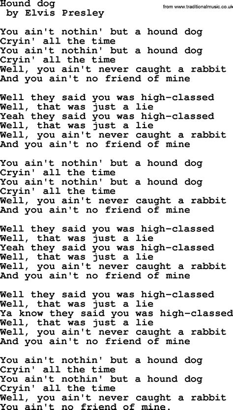 puppy lyrics bruce springsteen song hound lyrics