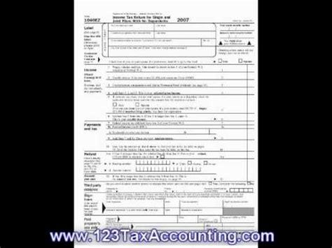 1040ez printable tax forms youtube