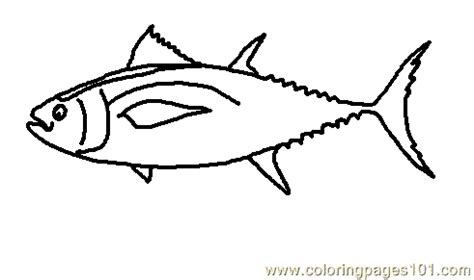 coloring pages obesus tuna picture 1 animals gt fishes