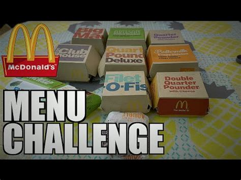 mc donalds challenge mcdonalds 20 patty cheeseburger challenge nate vs nela