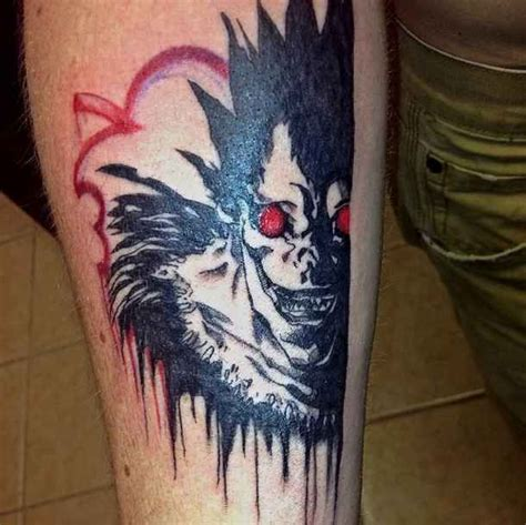 tattoo nightmares netflix 17 badass quot death note quot tattoos that will give you
