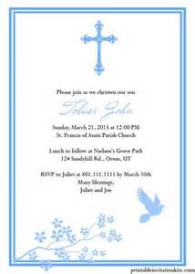 church invitation templates free 17 best ideas about christening invitations boy on