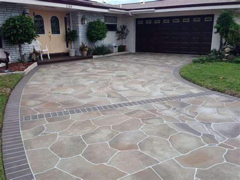 concrete flagstone patio home design ideas and pictures