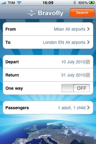 low cost flights app for ipad iphone travel