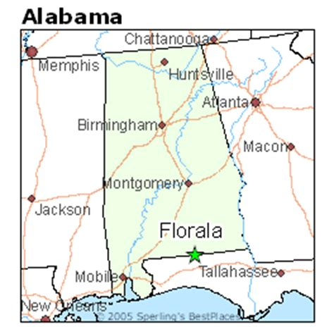best places to live in florala, alabama