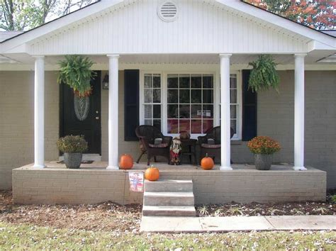 ranch style front porch ranch home designs with porches home design