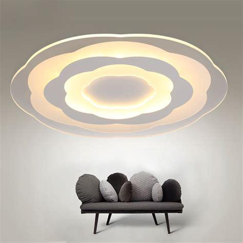 white minimalism ultrathin modern led ceiling light for