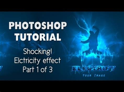adobe photoshop tutorial in urdu picture effect shocking adobe photoshop effect electricity text and