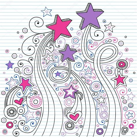 doodle shooting shooting back to school notebook doodle vector