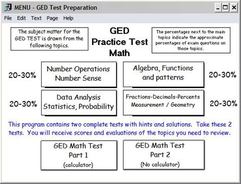 sle of ged test ged math probability worksheets ged best free printable