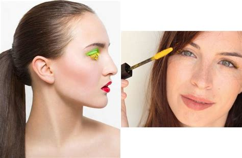 colored mascara colored mascara new trend to try
