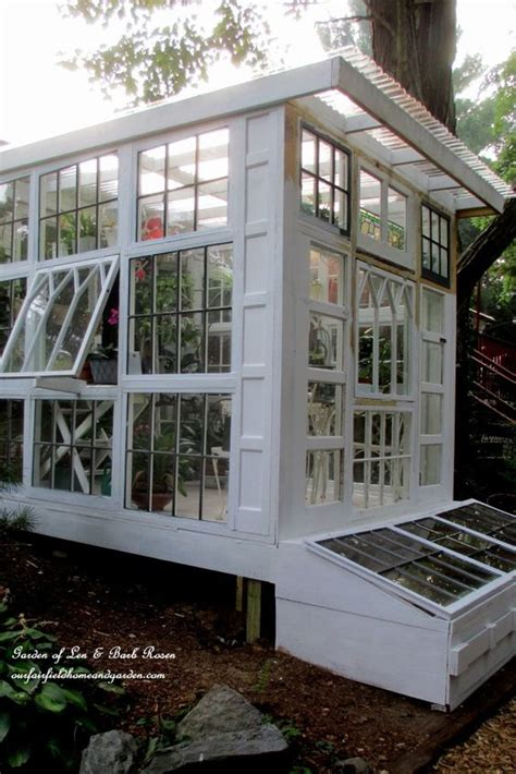 window green house building a repurposed windows greenhouse old windows are just a greenhouse in