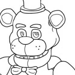 Five igts at freddys colouring pages page 2