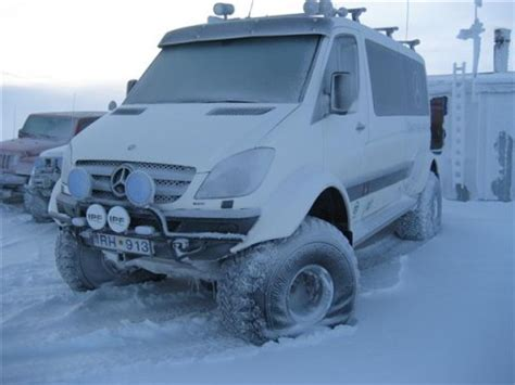 lifted mercedes van lifted sprinter van in iceland part 2 gt gt 4x4 off roads