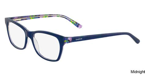 buy bebe bb5118 rosy frame prescription eyeglasses