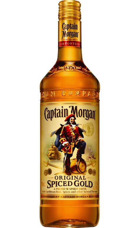 captain spiced rum 700ml spirits mixers
