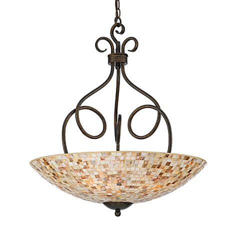 quoizel lighting warehouse sale quoizel 174 4 light genuine shell pendant from the monterey