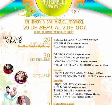 calendario fiestas patronales puerto rico 2016 calendario fiestas patronales puerto rico 2016