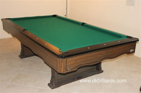 marble top fischer pool table dk billiards service