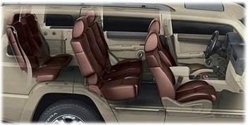 Jeep Wrangler Seating Capacity 2006 2010 Jeep Commander