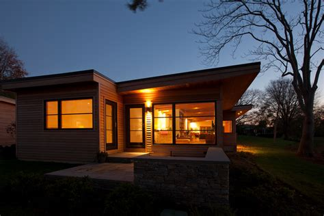 Mid Century Dining Room modern wood siding exterior modern with architecture