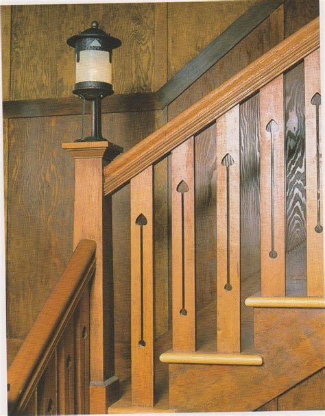 Frank Banister Arts Crafts Handrail