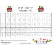 Best Photos Of Number Tracing Worksheets 1 100 Printables