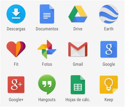 imagenes de logos geniales probamos todas las google apps con material design gracias