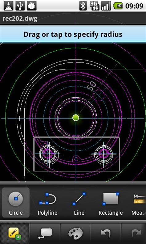 autocad ws android app review  autocad ws  android