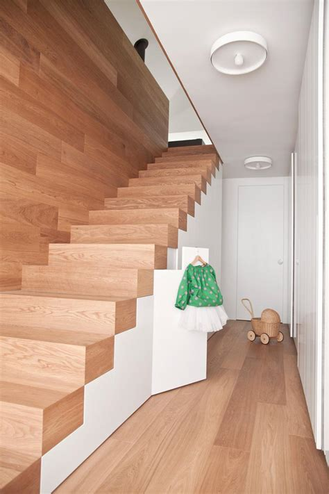 Wooden Stair Banisters Escalier Sans Rampe Ni Main Courante En 12 Designs Cool