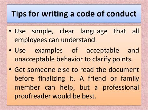 All Ethical Language Is Prescriptive Essay by Code Of Conduct In Business