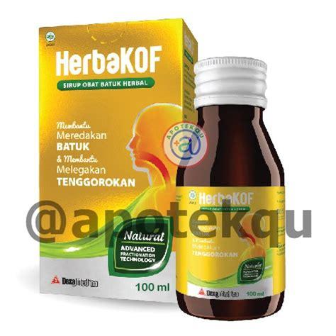 Dijamin Herbakof 60 Ml herbakof syr 60ml apotekqu apotekqu