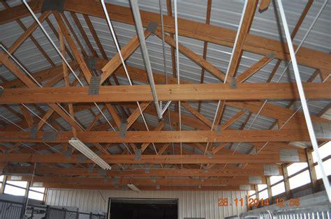 insulating metal roof pole barn