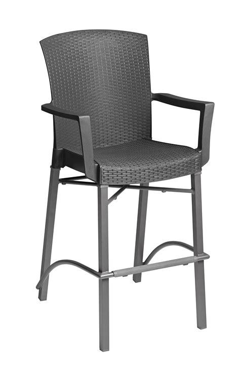 havana bar stool havana barstool with arms charcoal