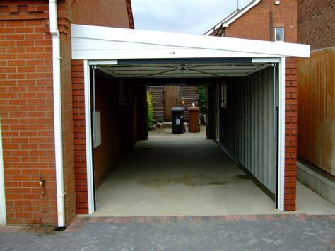 Hanson Garages Featherstone by Lean To Hanson Concrete Garages