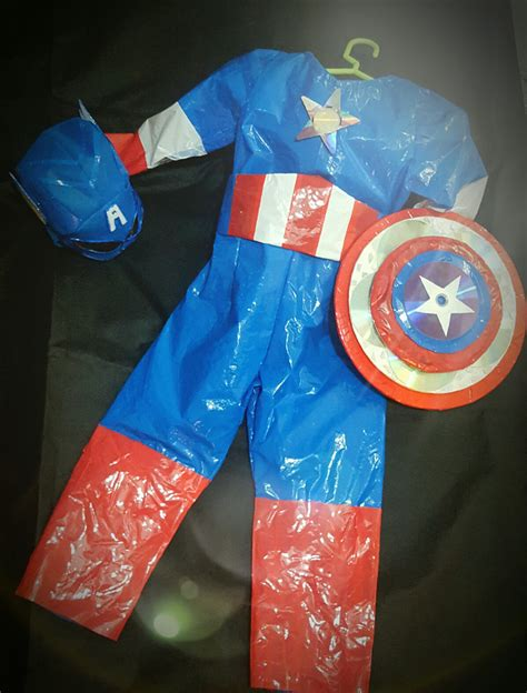 Disfras Con Reciclaje D Capitan America | disfraz de capitanamerica para mi bb pinterest