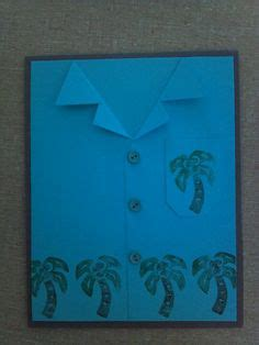 hawaiian shirt card template 1000 images about cards s shirts on