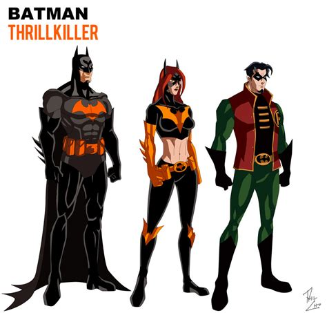 batman thrillkiller animated by phil cho on deviantart
