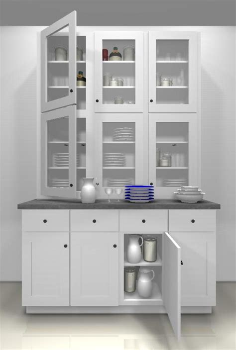 White China Cabinet With Glass Doors Kitchen Design Ideas Glass Doors For A China Cabinet