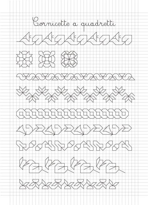 cornici per quaderni a quadretti cornicette e disegni a quadretti